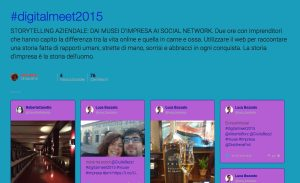 DIGITALmeet2015 Storify
